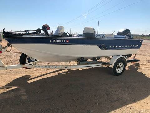 1994 Starcraft Walleye Space 170 Fishing Boat for sale in Yuma, AZ