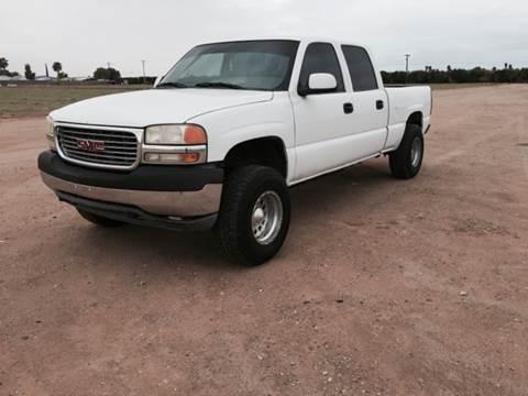2001 GMC Sierra 2500HD for sale in Yuma, AZ