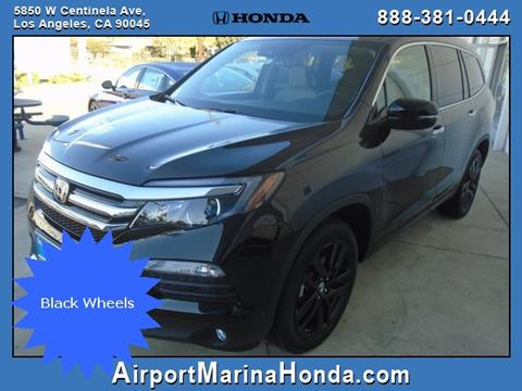 2017 Honda Pilot for sale in Los Angeles CA