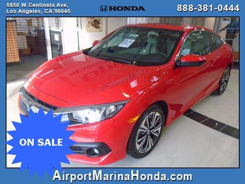 2016 Honda Civic for sale in Los Angeles CA