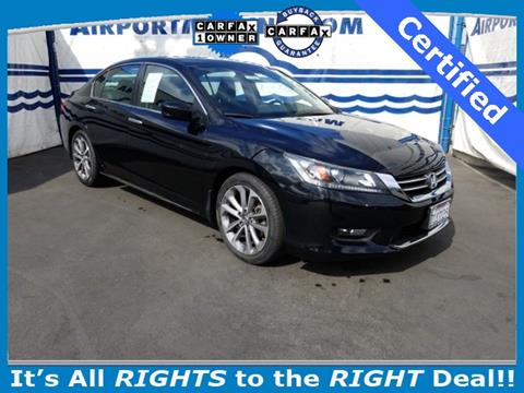 2015 Honda Accord for sale in Los Angeles CA