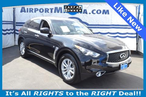 2017 Infiniti QX70 for sale in Los Angeles CA