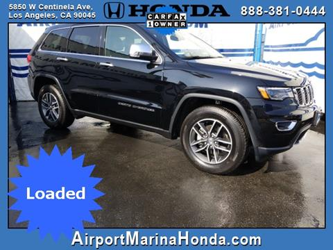 2017 Jeep Grand Cherokee for sale in Los Angeles CA