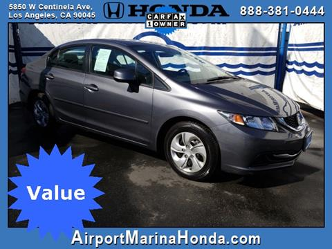 2013 Honda Civic for sale in Los Angeles, CA