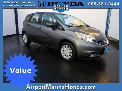 2016 Nissan Versa Note for sale in Los Angeles, CA