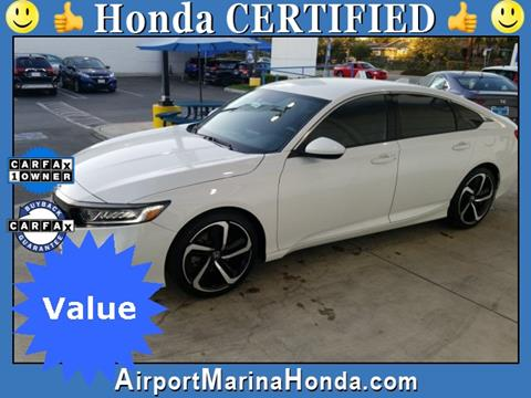 2018 Honda Accord for sale in Los Angeles, CA