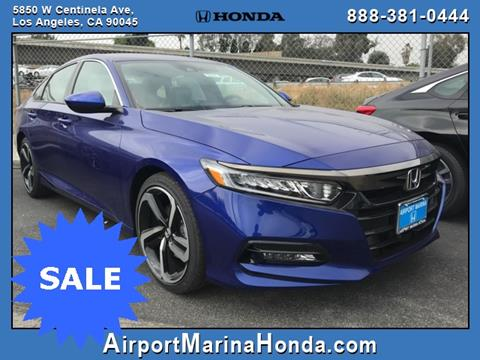 2019 Honda Accord for sale in Los Angeles, CA