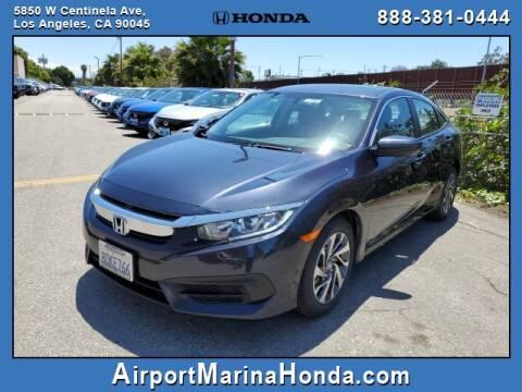 2018 Honda Civic EX for sale at Airport Marina Honda in Los Angeles CA