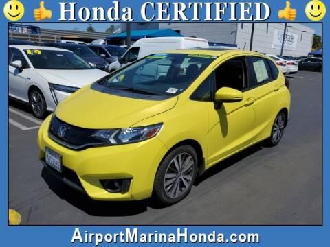 2017 Honda Fit EX-L w/Navi for sale at Airport Marina Honda in Los Angeles CA