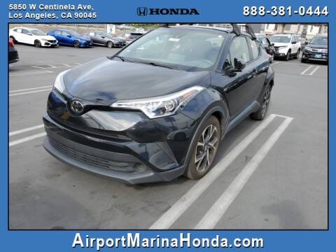 2019 Toyota C-HR for sale at Airport Marina Honda in Los Angeles CA