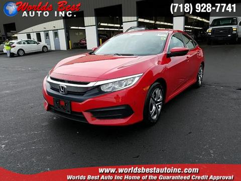 2016 Honda Civic for sale in Brooklyn, NY