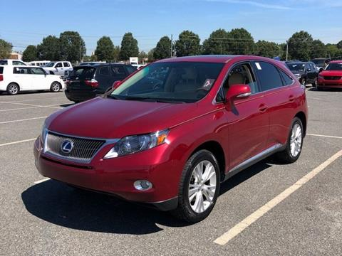 2011 Lexus RX 450h for sale in Clover, SC