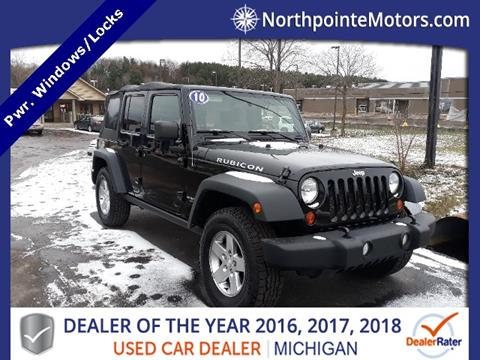 2010 Jeep Wrangler Unlimited for sale in Traverse City, MI