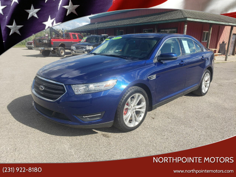 2013 Ford Taurus for sale at Northpointe Motors in Kalkaska MI