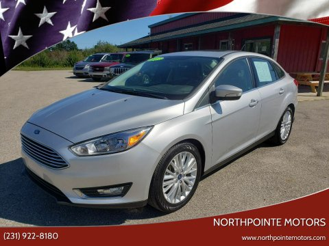 2017 Ford Focus for sale at Northpointe Motors in Kalkaska MI