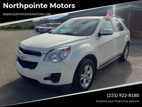 2015 Chevrolet Equinox for sale at Northpointe Motors in Kalkaska MI