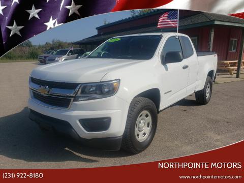 2016 Chevrolet Colorado for sale at Northpointe Motors in Kalkaska MI
