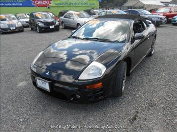 2003 Mitsubishi Eclipse Spyder for sale in Seattle, WA