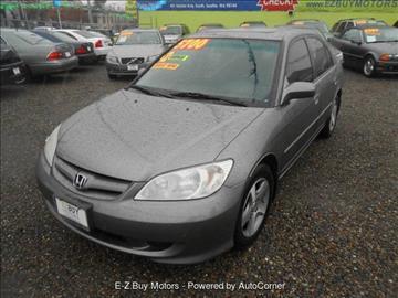 2005 Honda Civic for sale in Seattle, WA