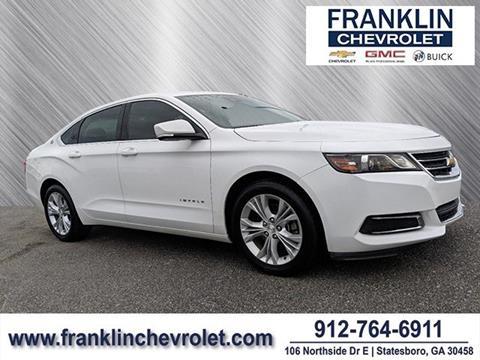Franklin Chevrolet Statesboro Ga >> 2014 Chevrolet Impala For Sale In Statesboro Ga