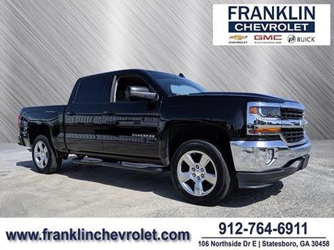 Franklin Chevrolet Statesboro Ga >> 2018 Chevrolet Silverado 1500 For Sale In Statesboro Ga