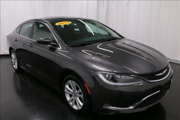 2015 Chrysler 200 for sale in Muskegon, MI