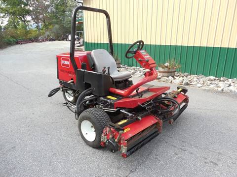 2013 Toro REELMASTER SIDEWINDER 3100D for sale in Rutherfordton, NC