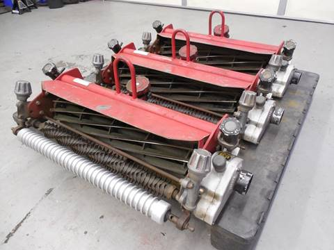 2003 TORO GREENSMASTER 11 BLD SPA REELS WITH GROOMERS for sale in Rutherfordton, NC
