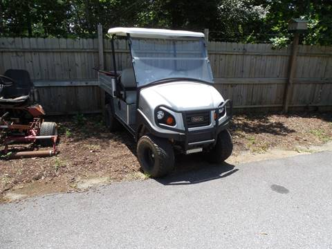 2015 CLUB CAR CARRYALL 550 LIFTED 550 WITH CANOPY for sale in Rutherfordton, NC