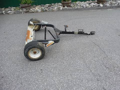 2008 TRU TURF EQUIPMENT WALK GREENS MOWER TRAILER