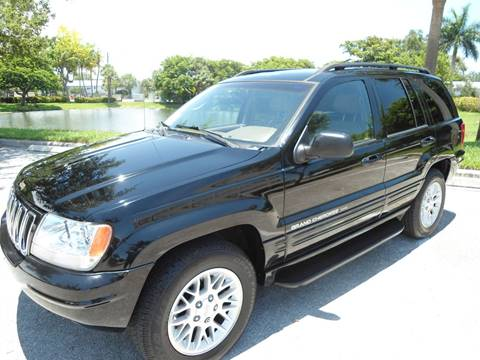 2002 Jeep Grand Cherokee for sale in Pompano Beach, FL