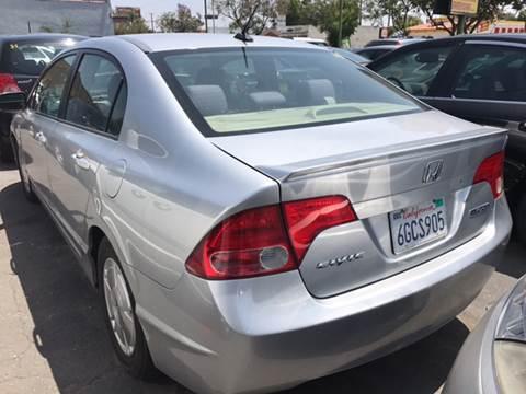 2007 Honda Civic For Sale In Pico Rivera, CA