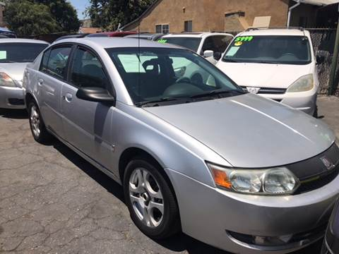 2003 Saturn Ion for sale at Affordable Auto Inc. in Pico Rivera CA