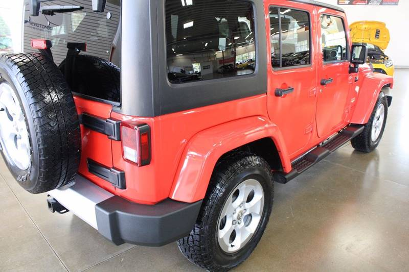 2013 Jeep Wrangler Unlimited for sale at 608 Motorsports in Madison WI