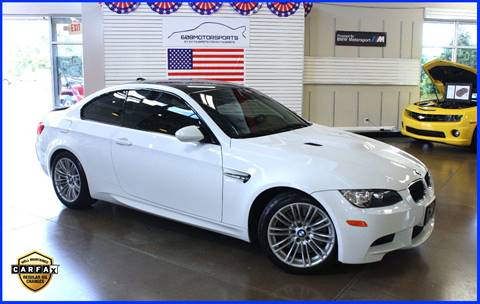 2012 BMW M3 for sale at 608 Motorsports in Madison WI