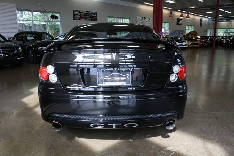 2005 Pontiac GTO for sale at 608 Motorsports in Madison WI