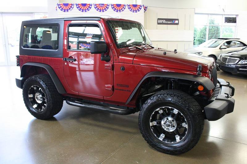 2012 Jeep Wrangler for sale at 608 Motorsports in Madison WI