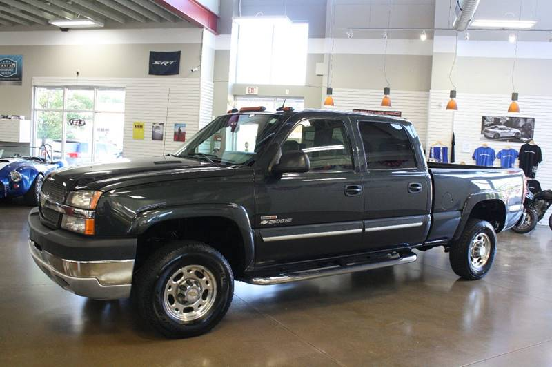 2004 Chevrolet Silverado 2500HD for sale at 608 Motorsports in Madison WI
