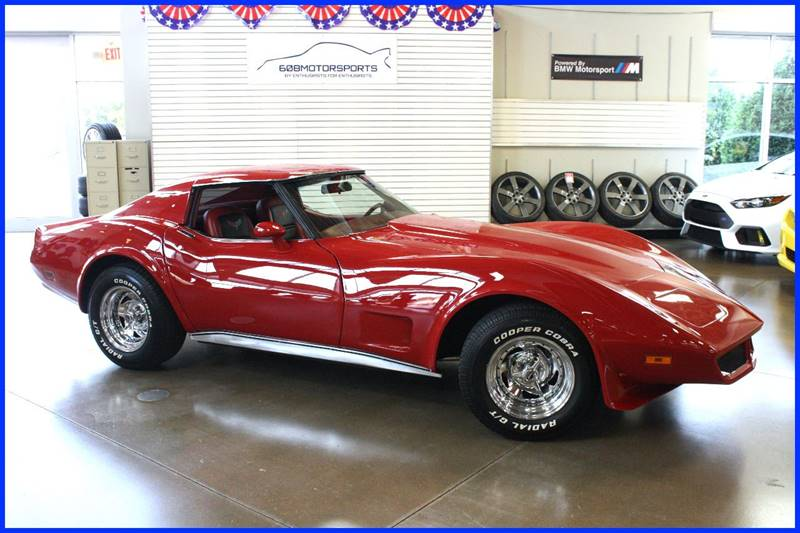 1977 Chevrolet Corvette for sale at 608 Motorsports in Madison WI