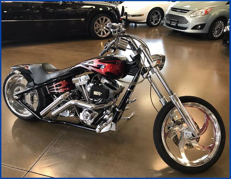 2001 American IronHorse Tejas Chopper for sale at 608 Motorsports in Madison WI