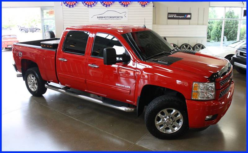 2013 Chevrolet Silverado 3500HD for sale at 608 Motorsports in Madison WI
