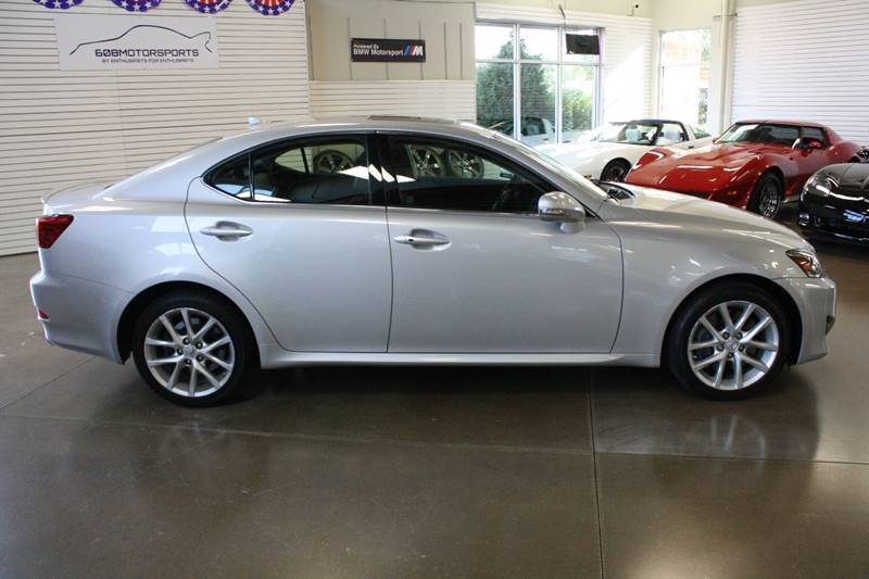 2012 Lexus IS 350 for sale at 608 Motorsports in Madison WI