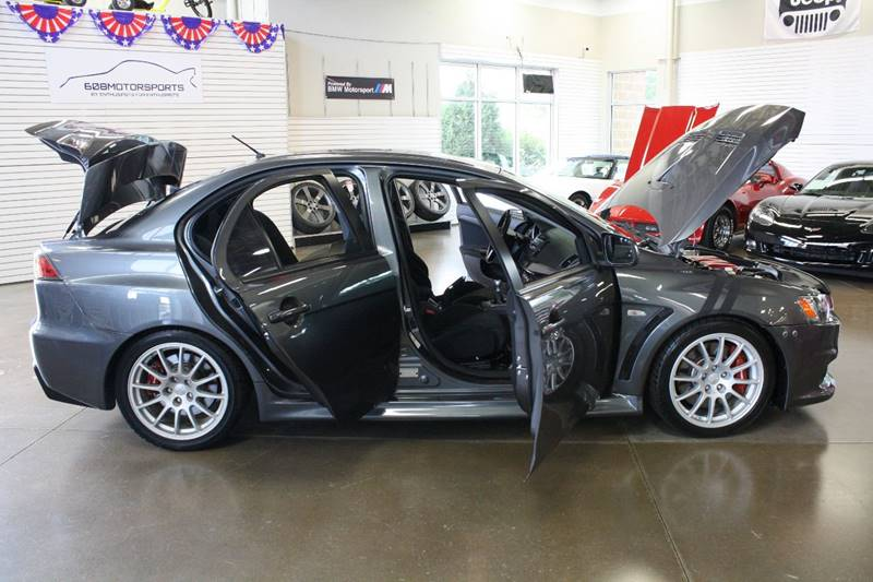 2011 Mitsubishi Lancer Evolution for sale at 608 Motorsports in Madison WI