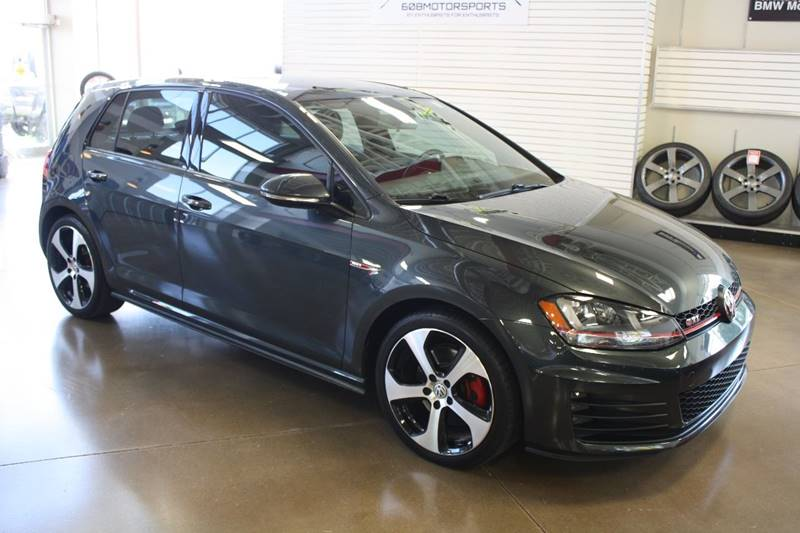 2015 Volkswagen Golf GTI for sale at 608 Motorsports in Madison WI