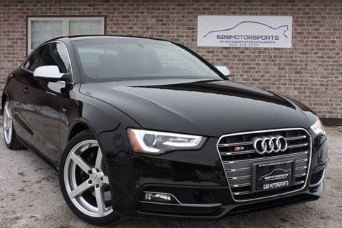 2014 Audi S5 for sale at 608 Motorsports - Sold Inventory in Sun Prairie WI