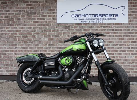2013 Harley-Davidson Fat Bob for sale at 608 Motorsports - Sold Inventory in Sun Prairie WI