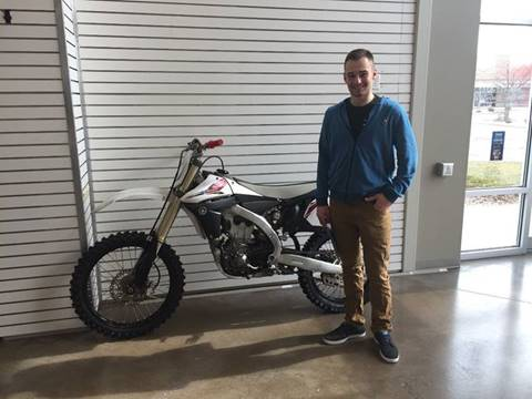 2013 Yamaha YZ450F for sale at 608 Motorsports - Sold Inventory in Sun Prairie WI