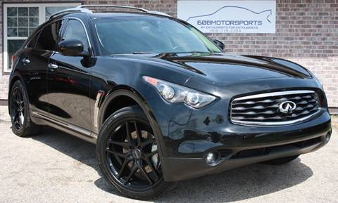 2011 Infiniti FX50 for sale at 608 Motorsports - Sold Inventory in Sun Prairie WI