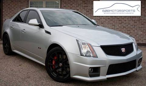2014 Cadillac CTS-V for sale at 608 Motorsports - Sold Inventory in Sun Prairie WI