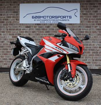 2012 Honda CBR600RR for sale at 608 Motorsports - Sold Inventory in Sun Prairie WI